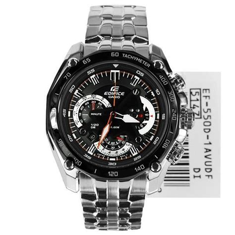 Casio Edifice Ef 550 1avdf Silver Black casio edifice ef 550d 1a ef 550d 1a end 12 27 2018 3 15 pm