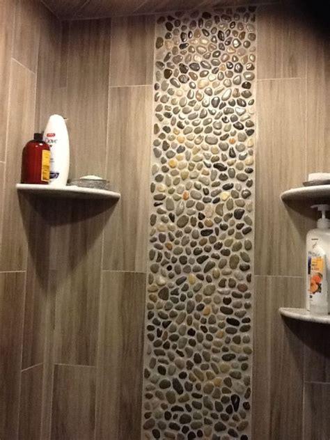 best 25 pebble tile shower ideas on pinterest large