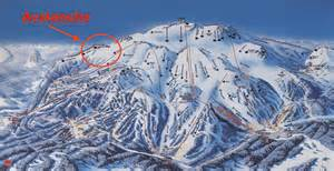 mammoth mountain california map skier in in bounds avalanche at mammoth ca on dec