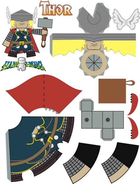 4chan Papercraft - thor po archives