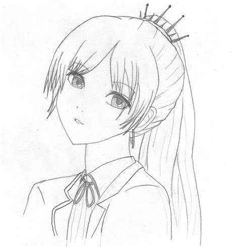 ruby rose coloring page weiss schnee rwby by heartlessguynumber17 on deviantart