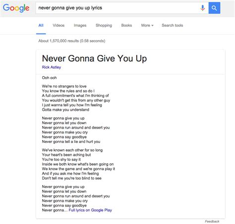 Lyric Lookup Adds Song Lyric Search Wired Uk