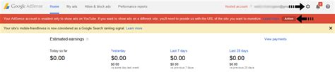 adsense youtube url use hosted adsense account to show ads on own site