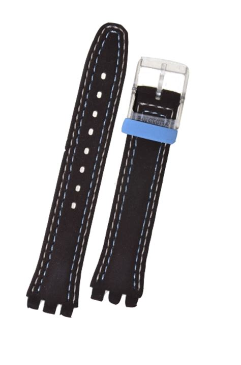 Blue Choco swatch straps uk swatch replacements