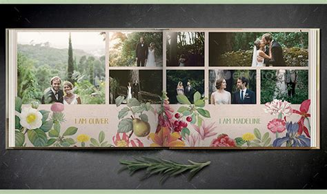 Wedding Book Design Template by 8 Beautiful Wedding Photobook Templates For Designers