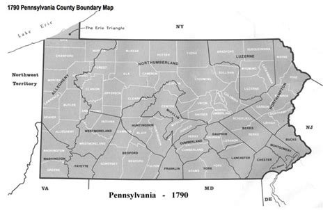 Pennsylvania Birth Records 1800s Census Records And County Boundary Changes Genealogyblog