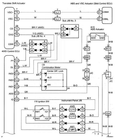 2004 toyota sequoia wiring harness 2004 wirning diagrams