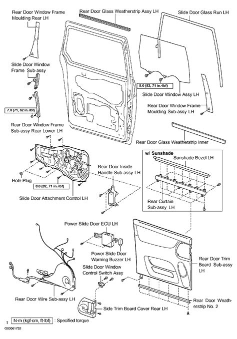 toyota sienna rear door parts diagram view toyota free engine image for user manual download 2004 toyota sienna sliding door diagram