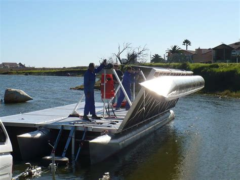 pontoon boats and rough water never heard of a folding pontoon boat wonder what it s