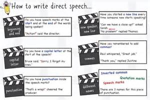 speech marks punctuation reminder mat by dangower45