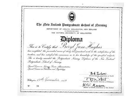 school certificates pdf certificate pdf the nursing history project