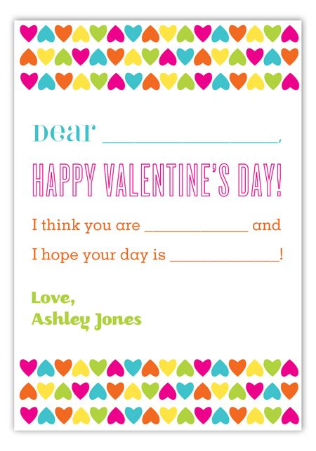 design your own valentines card create your own card fill in valentines