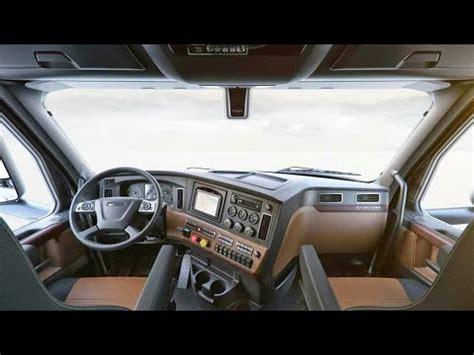 luxury trucks inside freightliner cascadia 2018 interior mini bedroom on the