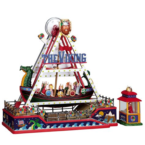 lemax christmas collection lemax collection the viking ship 2pc set seasonal villages collectibles