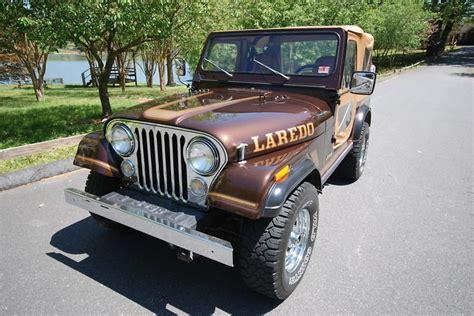brown jeep cj7 1986 jeep cj7 post mcg social myclassicgarage