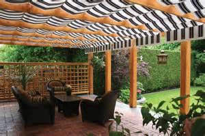 Shade Tree Canopies by Shadetree Canopies Between Wood Beams