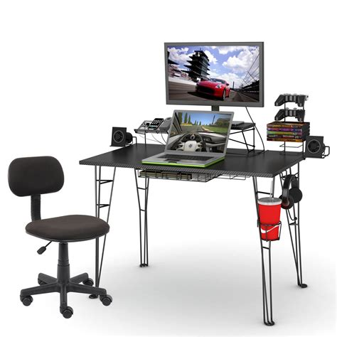 Gaming Desk And Chair Atlantic Gaming Desk And Task Chair