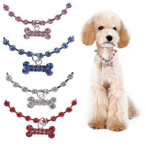 top pet gifts rhinestone necklace top pet gifts