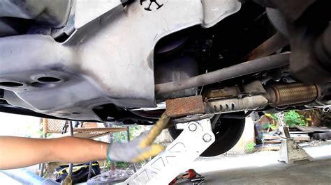 honda accord rear motor mount youtube
