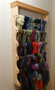 Hanger Organizer Rack by Best 25 Scarf Rack Ideas On Diy Decoupage