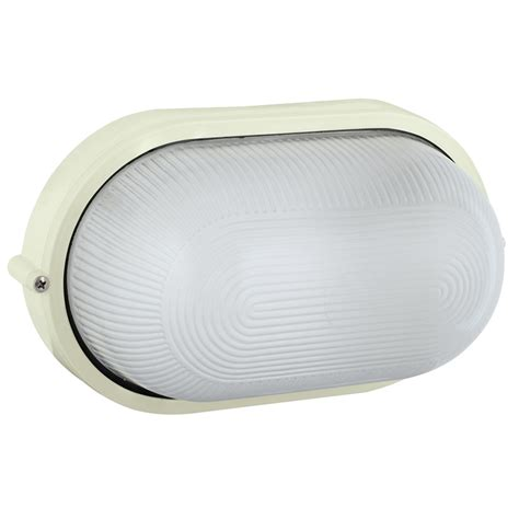 arlec large oval bunker light bunnings warehouse
