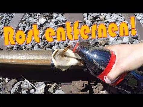 Richtig Rost Entfernen Und Lackieren by Chrom Rost Entfernen Mit Cola Und Alu Folie Funnydog Tv