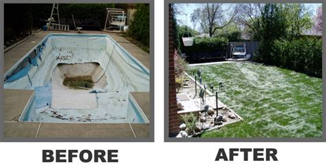 pool fill in and removal company