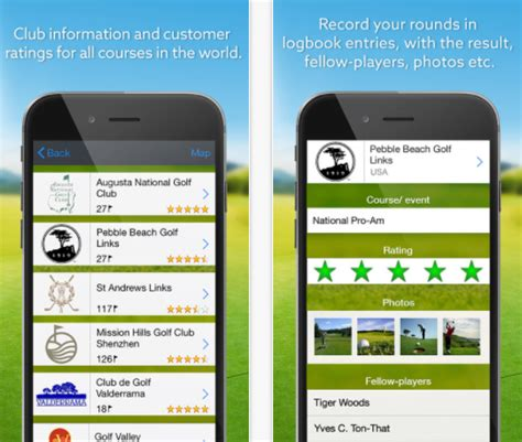 best golf app best golf apps for iphone apps to help raise your game