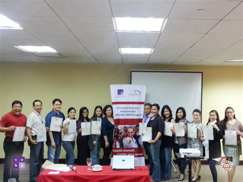 Mini Mba Program Philippines by Gallery Chartered Association Of Business Administrators