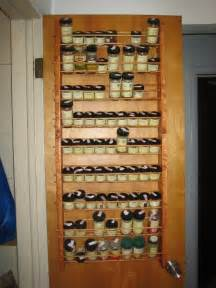 The Door Spice Racks by A Miscellany Spice Rack