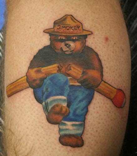smokey tattoos 33 best images about smokey the on
