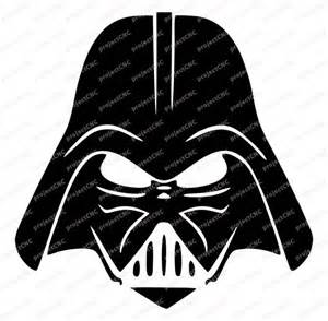 darth vader potrairt t 234 te face logo noir blanc star par