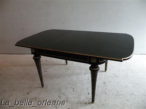 black dining tables for sale jansen neoclassical black lacquered dining table
