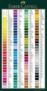 polychromos color chart faber castell polychromos individual artists colour pencils