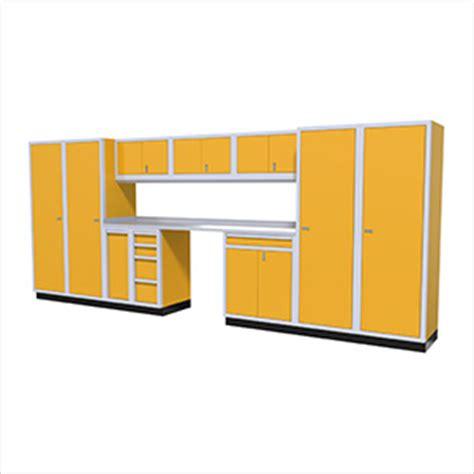 Yellow Garage Cabinets Aluminum Garage Storage Cabinets Yellow