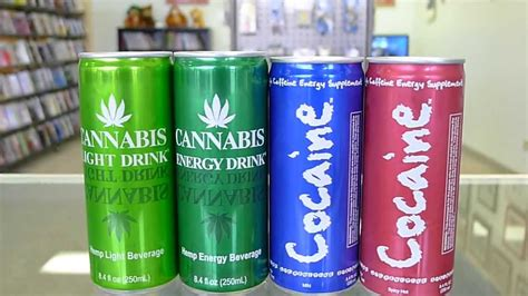 weed drinks an examination of cocaine and cannabis brand energy drinks