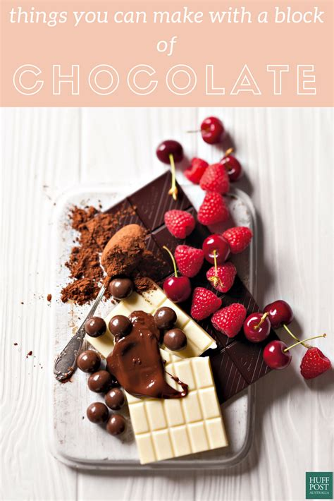 8 Things To Do With Chocolate by 13 Delectable Things You Can Make With A Block Of Chocolate