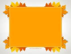 Thanksgiving Templates by Free Thanksgiving Border Templates Customizable Printable