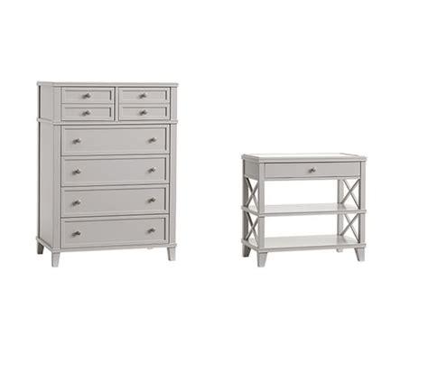 dresser and bedside table sets clara dresser 2 wide lattice bedside table set