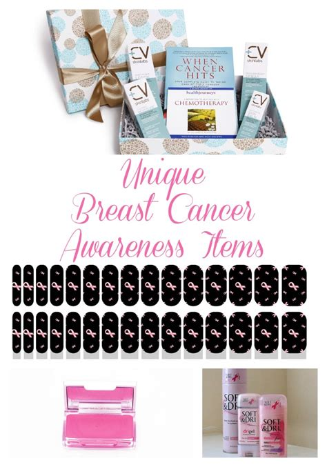 Breast Cancer Giveaways - great items that support breast cancer awareness style on main