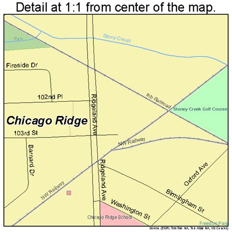 chicago ridge mall map chicago ridge illinois map 1714065
