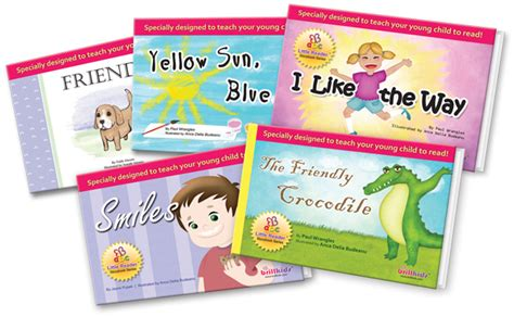 5 Books For A Wide Reader by Books For Readers Baby Reading Books