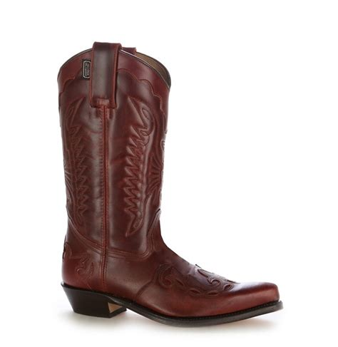 burgundy leather boots unisex burgundy cowboy boots with mexican stitching