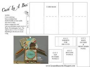 stin up box templates card in a box file make the cut forum