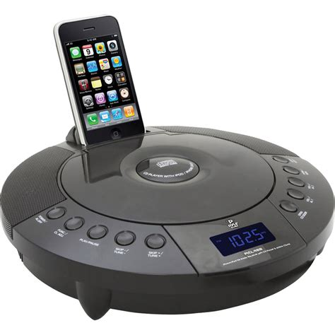 pyle home iphone ipod fm radio receiver with cd player picl48b