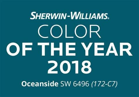 sherwin williams oceanside 2018 color of the year blog seattle staged to sell real estate home staging