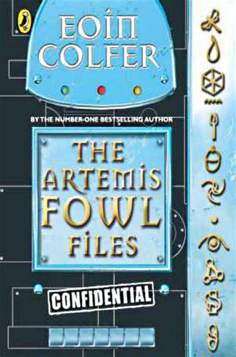 artemis fowl book report the artemis fowl files