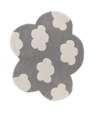 cloud shaped rug   m&s