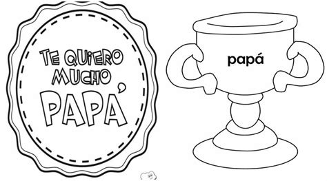 dibujo para colorear de dia del padre dibujos d 237 a del padre para colorear e imprimir