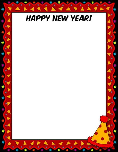 new year printable border printable happy new year border free gif jpg pdf and